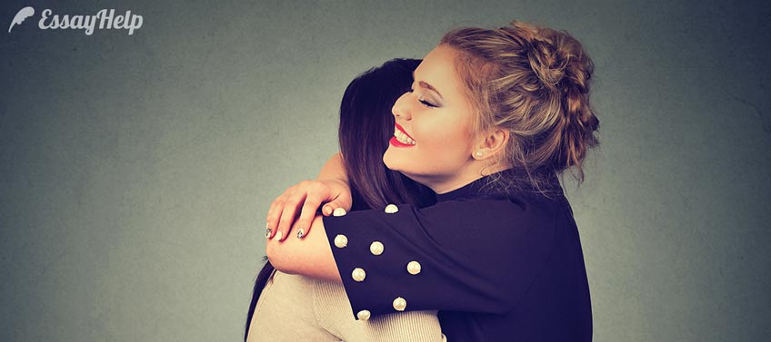 Hugging Someone